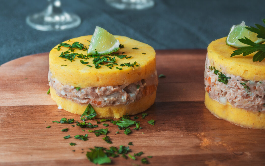 The Classic Peruvian Potato Dish Causa Rellena