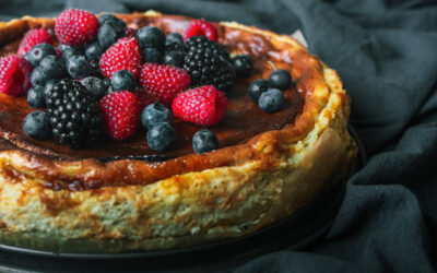 The easiest and most tasty cheesecake you'll ever make: Burnt Basque Cheesecake recipe