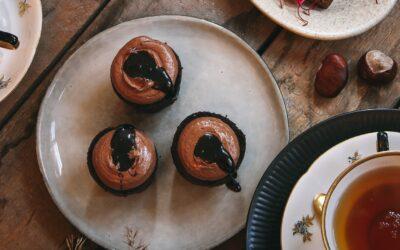 Port wine cupcakes